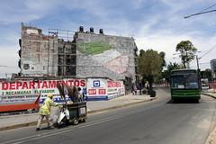 blu (Luna Park) Tags: cdmx mexicocity mexico df streetart mural blue bus streetsweeper lunapark