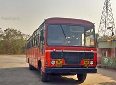 Vitthalwadi - Panvel (yogeshyp) Tags: msrtc maharashtrastatetransport msrtcparivartanbus
