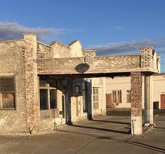 Auto service station.   Ritzville,Washington (montanatom1950) Tags: washington crusty abandoned ruin
