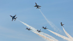 The Boys Are Back In Town-1 (4myrrh1) Tags: maxwell 2017 military flying flightdemonstrationsquadron flightdemonstrationteam thunderbirds airforce aircraft airplane aviation airshow airplanes airport afb al alabama canon 6d ef70300l