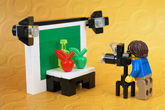 Still Life Legography (Lesgo LEGO Foto!) Tags: lego minifig minifigs minifigure minifigures collectible collectable legophotography omg toy toys legography fun love cute coolminifig collectibleminifigures collectableminifigure photography photographer stilllife stilllifephotography stilllifephotographer photograph camera fruits fruit photostudio studio flickrunitedaward
