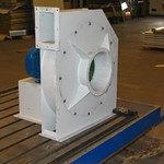 Gecoate hoge druk centrifugaal ventilator