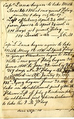 Eighth page of the Cambridge Milk Dealer Account Book (Cambridge Room at the Cambridge Public Library) Tags: cambridgemass commerce milk business accountbooks milkdelivery