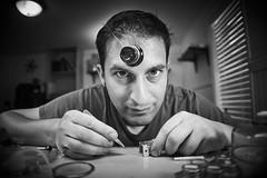 _DSC4989 (watchfrock) Tags: watchmaker watchmaking horologist horology portrait minolta rokkor