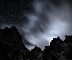 Moonrise Fernandez...Joshua Tree National Park (Rick Exstrom) Tags: rickexstrom moonrise stars night joshuatree joshuatreenationalpark landscape nationalpark nightsky