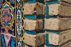 tourquoise everywhere (Katka.On.Film) Tags: iran shiraz traveling travels analog analogue architecture blue walls wall bricks 35mmfilm 35mm minolta