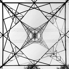 Fractal. (Sean Hartwell Photography) Tags: pylon fractal geometry electricity square wanstead lines london northeastlondon