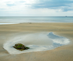 On Reflection (adiej62) Tags: beach water sand summer holidays ocean sea seascape landscape longexposure blur minimalism fineart waterfront coastline coast nationaltrust sky clouds perranuthnoe cornwall