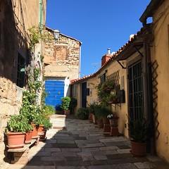 Campiglia Marittima (idilucb) Tags: door porta blu blue italy italia etrusco campiglia village tuscany toscana