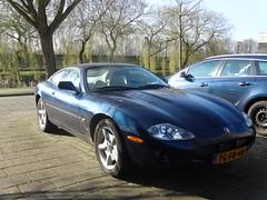JAGUAR XK8 COUPE 1998 Apeldoorn (willemalink) Tags: jaguar xk 8 apeldoorn
