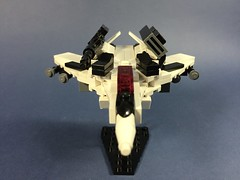 VF-171EX Nightmare Plus (ZiO Chao) Tags: lego moc macross frontier valkyrie vf171 fighter space anime afol weaponary