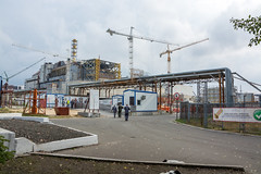 Chernobyl power plant (Big7000) Tags: chernobyl reactor 4 building site new safe confinement sarcophagus