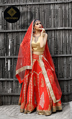 bridal-red-lehnga-golden-blouse-red-chunni (geetanjalidesignstudio) Tags: gorgeousbrides designerlehnga weddinglehnga indianwedding fashionableindianbridal indianmodern bridalcouture bridalfashionweekvancouver mesmerize dazzle wearwhatyoulove traditional stylish geetanjalilabels geetanjali gdesignstudio fashionweek2017 highfashion vancouver fashionweek raasleelabridalfashionweek vancouverconventioncentre bridalfashionweek2017 raasleelafashionweek2017 torronto canada indianbride indianstyle celebritystyle indianweddingdresses bridallehnga mordernindianwedding