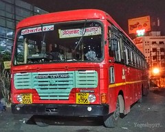 Aurangabad - Nagpur (yogeshyp) Tags: msrtc maharashtrastatetransport msrtcparivartanbus aurangabadnagpurstbus