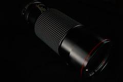 Tokina AT-X 100-300 f/4 (westonde) Tags: vintagelenses vintagelens legacyglass lightpainting black industrialdesign lenses tokina