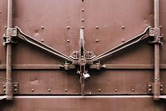 locked (PBilley) Tags: train boxcar locked