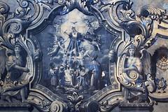 Painel de Azulejo - Santuário de Nossa Senhora dos Remédios - Lamego (Cláudio S. Feijó) Tags: claudio serra feijo portugal painel de azulejo santuário nossa senhora dos remédios lamego