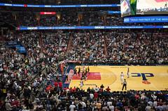 Wizards in the NBA Playoffs (Beau Finley) Tags: washingtonwizards beaufinley marcingortat johnwall bradleybeal verizoncenter nwdc chinatown dc washingtondc districtofcolumbia atlantahawks