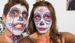 Oaxaca Day of the Dead Celebration face paint-2