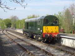 20059 Avon Riverside, 9/4/17 (Alister45) Tags: d8059 20059 class20 avonvalleyrailway bristol avon bitton severnvalley englishelectric train rail