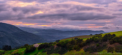 Life on the Edge (philipleemiller) Tags: landscape nature dusk d800 pacificcoast california carmelvalley stormclouds vineyards sunset panoramas