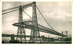 The Transporter Bridge - Runcorn (Michael Jefferies) Tags: england cheshire runcorn bridge transporter mersey river widnes ship canal manchester lancashire