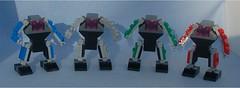 Defenders (Mantis.King) Tags: lego legogaming legomecha moc mechaton mobileframezero mfz mf0 microscale mecha mech scifi futuristic wargames