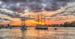 Tallships Greenwich London (iankent1963) Tags: tallships greenwich london festival boats sun sunset clouds southlondon flickr explore river thames waterfront water ships tourism noperson dusk