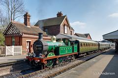 263 20170407 SheffieldPark, BluebellRailway (steam60163) Tags: classh bluebellrailway sheffieldpark secr southernrailway