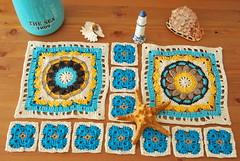 Spring lane cal (La Borda del Crochet) Tags: mantadeverano mantacrochet algodón crochet ganchillo handmade