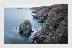 Conjure (Stuart Leche) Tags: cliffs coast erosion geology landscape leisure longexposure naturalarch outdoor pembrokeshire rocks scenery scenic sea seascape serene spring stack stuartleche wwwstuartlechephotography