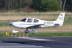 D-EMYA - 2005 build Cirrus SR22 G2, inbound to Runway 24 at Friedrichshafen during Aero 2017 (egcc) Tags: 1254 aero aerofriedrichshafen aerofriedrichshafen2017 bodensee cirrus cirrusdesign demya edny fdh friedrichshafen g2 lightroom n66py oekpy sr22