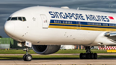 Singapore Airlines B777 (Green 14 Pictures) Tags: avporn aviation avgeek airport aircraft airplane air airlines airline airfield airways singapore singaporeairlines sq sia boeing boeing777 777 77w 777300er man manchester manchesterairport manchesterringwayairport egcc uk unitedkingdom england greatbritain gb 9vsnc