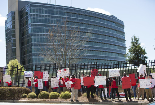 Centers for Disease Control Protest- Atlanta, GA