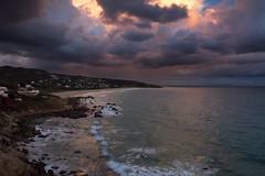 Playa de Los Alemanes (jaocana76) Tags: playadelosalemanes tarifa cadiz campo de gibraltar campodegibraltar farocamarinal puntadegracia cabodeplata atlanterra zaharadelosatunes andalucia estrechodegibraltar straitsofgibraltar strog jaocana76 canoneos7d canon1635 playa beach atlantico atlantic oceano ocean nubes clouds cloudy nuboso atardecer sunset