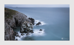 Fragmented (Stuart Leche) Tags: cliffs coast erosion geology landscape leisure longexposure naturalarch outdoor pembrokeshire rocks scenery scenic sea seascape serene spring stack stuartleche wwwstuartlechephotography