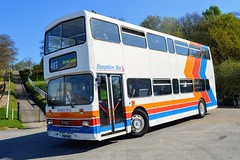 201 F601MSL (PD3.) Tags: 201 f601msl f601 msl stagecoach south hampshire bus stripes surrey museum brooklands lbpt cobham annual buses coach spring gathering preserved vintage preservation trust 2017 london transport weybridge