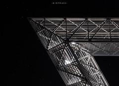 Saarpolygon (Eisfried) Tags: sony alpha7 a7 mark2 saarland saarlouis deutschland saarpolygon landmark beleuchtet nacht treppe stahl bergehalde bergbauerbesaar bergwerksaar dsk rag duhamel langzeitbelichtung industrie industrial steel stairs illuminated night longexposure