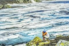 Frozen lake (Foto&Grafica 2D/3D) Tags: dolomiti dolomites lake ice trentino italy