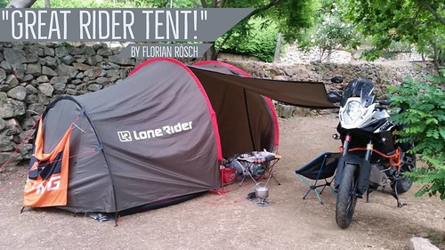 The Best Motorcycle Tent! By Lone Rider & Flickriver: Photos from LONE RIDER MOTO