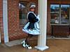 Rainy day maid (jensatin4242) Tags: sissy maid crossdresser transvestite sissymaid jensatin petticoat satin frilly
