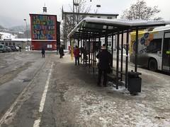 Bus station (CruisAir) Tags: stop bus austria feldkirch