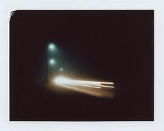 Road lights (Maija Karisma) Tags: polaroid littlebitbetterscan pola instant propack fp100c peelapart fuji fujifilm roidweek2017