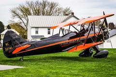 Farmhouse Biplane (J. Samuel Studios) Tags: biplane waco airplane goldenage aviation eaa vintage
