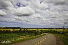 Countryside, PEI (wilbias) Tags: canada sky red island clouds road summer edward countryside prince rural eastern farmland county pei