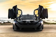 McLaren P1 on 17 Mile Drive (Axion23) Tags: black mclaren p1 17 mile drive car week 2015 bayareanady
