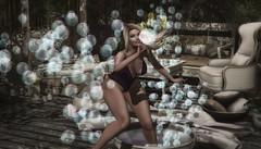 вυввℓү (Şωєєтγ) Tags: bubbles outdoors secondlife exile addams catwa blonde sweety happy wintermoon maitreya