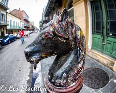 20170423_12474501-Edit.jpg (Les_Stockton) Tags: frenchquarter horsepost neworleans vacation louisiana unitedstates us