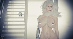 DOF - Ain't it perdy (beccs.omata) Tags: lilith lamia dyce succubus demon white sexy avatar fantasy cyborg