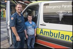 Benjamin wants to join as Ambulance Officer= (Sheba_Also 11.8 Millon Views) Tags: benjamin wants join ambulance officer